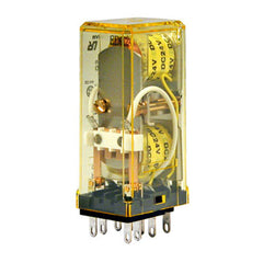 IDEC DPDT Self-maintained Latch Relay 3A - 24VDC