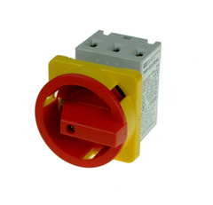 Panel Mount Isolator 3P 20A with R/Y Handle