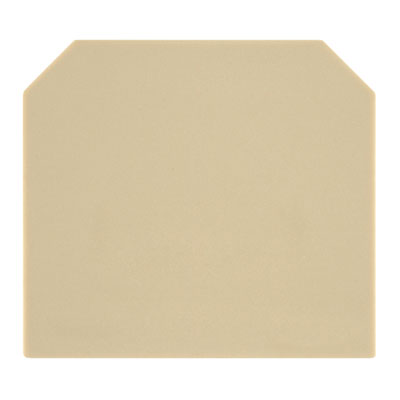 Weidmuller SAK Series End Plate 1.5mm Beige