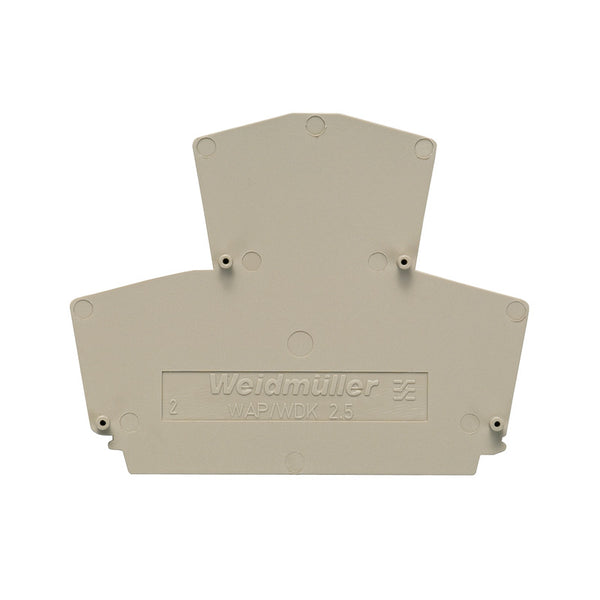 Weidmuller End Plate for W Series 2.5mm