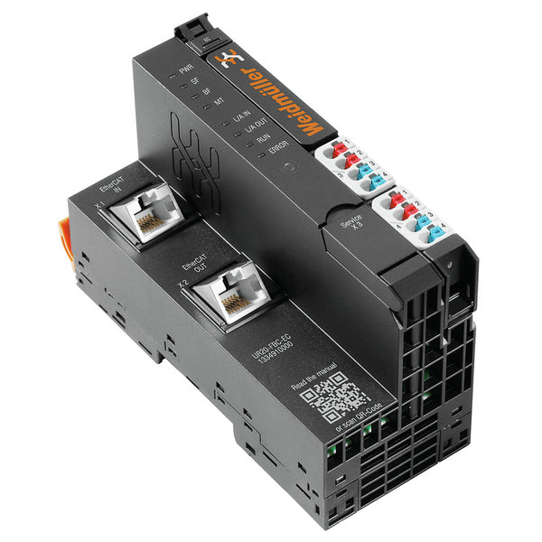 Weidmuller Remote I/O Fieldbus Coupler, Ethernet, EtherCAT