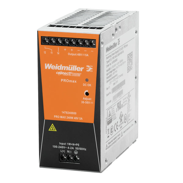 Weidmuller Power Supply PROmax 24V 240W 10 Amp