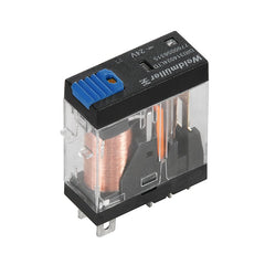 DRI Relay 12VDC 1CO w/ LED, free-wheel diode and test button