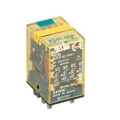 Idec Relay Plug-In 4PDT 24V AC 6 Amp