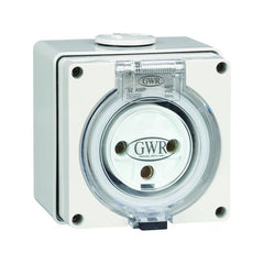20 Amp 3 Pin IP66 Fixed Socket 250V