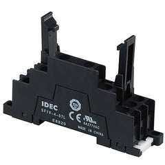 DIN Rail Mount Socket for RF1V 4 Pole