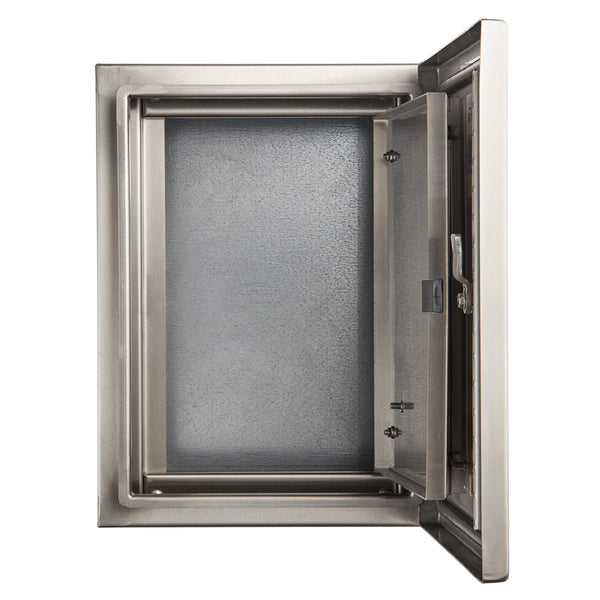 Stainless Steel Inner Door Escutcheon 300 H x 300 W