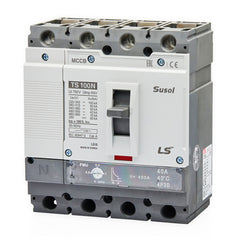 LS MCCB Moulded Case Circuit Breaker Susol 50kA 4 Pole 80 - 100 Amp