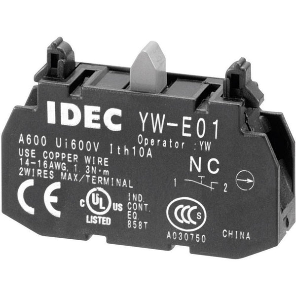 YW Series Contact Block 1NC