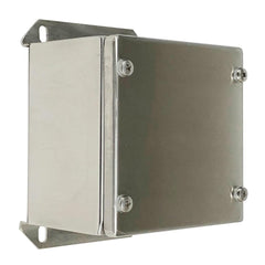 Push Button Enclosure 316 Stainless Steel 120 x 120 x 85 - No Hole