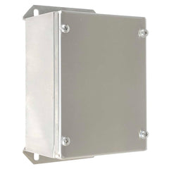 Push Button Enclosure 316 Stainless Steel 160 x 120 x 85 - No Hole