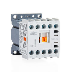 3 Pole 24VDC Coil 2.2kW 6A-20A 1NC Aux Contact Mini Contactor - LS Metasol
