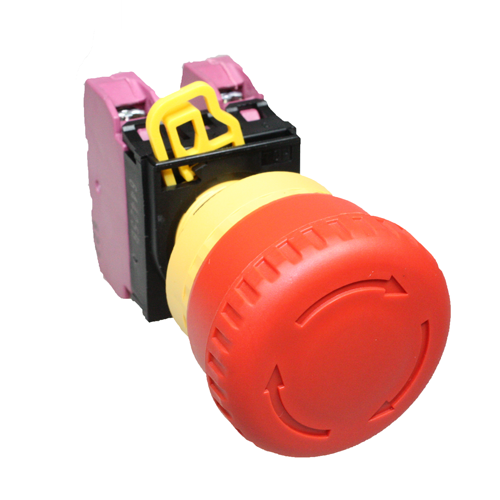 Idec Emergency Stop Push Button Red 2 x NC