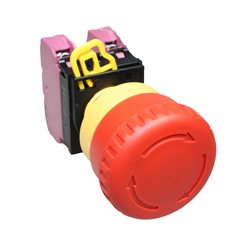 Idec Emergency Stop Push Button Red