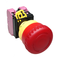 Idec Illuminated Emergency Stop Push Button Red