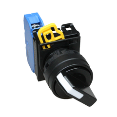 22mm 2 Position Selector Switch W-Plate - Idec