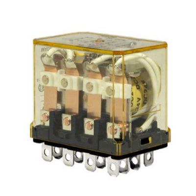 Idec Plug-In Relay 10A Contact 4PDT 110VDC Coil