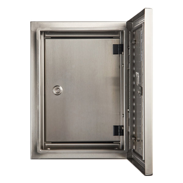 Stainless Steel Inner Door Escutcheon 600 H x 400 W