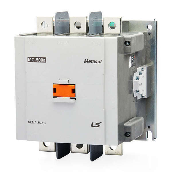 3 Pole 24VAC Coil 630A(AC3)/660A(AC1) 330kW Magnetic Contactor - LS Metasol