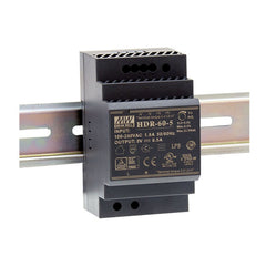 12V 54W 4.5A Din Mount Power Supply HDR Series - Ultra Slim Step Shape