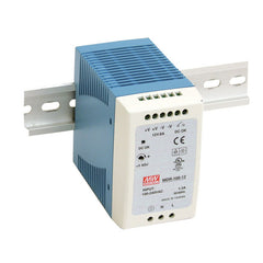 Meanwell Power Supply 12V 90W 7.5A Din Mount MDR Series