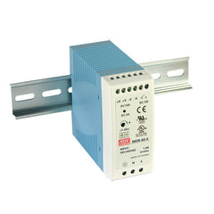 Meanwell Power Supply 12V 60W 5A Din Mount MDR Series