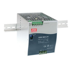 Meanwell Power Supply 48V 960W 20A Din Mount SDR Series