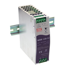 24V 120W 5A Din Mount Power Supply WDR Series - Wide Input Range