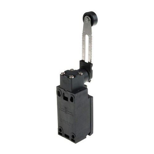Omron D4N Safety Switch With Adjustable Roller Lever Actuator NO/NC