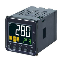 Omron E5CC PID Temperature Controller RS485 2 Event Inputs 1 Linear Current Output 24V AC/DC Supply
