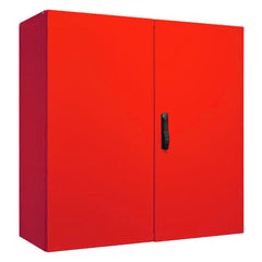 Electrical Enclosure 1000H x 1000W x 300D IP55 - RAL3001 Red