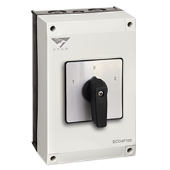 IP65 Enclosed Changeover switch, 4P 100A