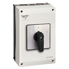 IP65 Enclosed Changeover switch, 4P 80A
