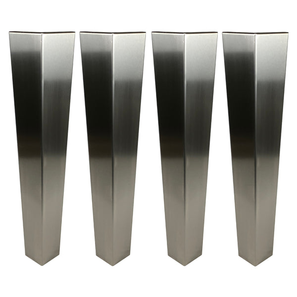Stainless Steel Electrical Enclosure Stand 850mm High, Set of 4