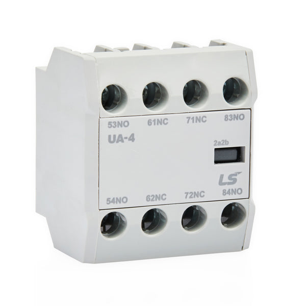 Front Mount Aux Contact for LS Contactor 4 NC 4P