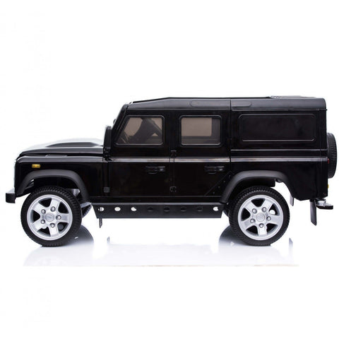 Licensed Land Rover Defender 12v Child's Ride On - Black - EpicStuff