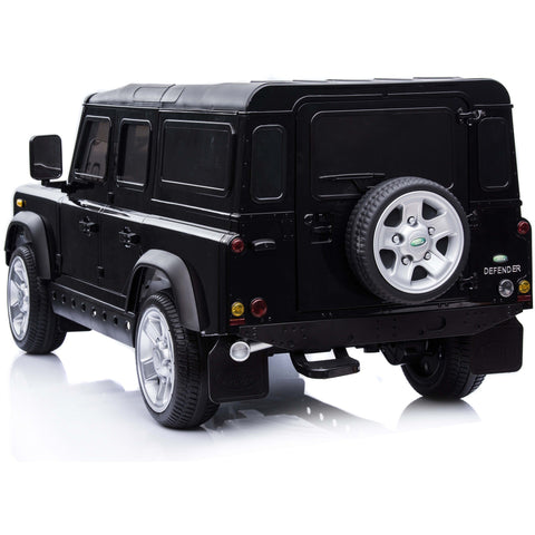 Licensed Land Rover Defender 12v Child's Ride On - Black - Pre Order - EpicStuff