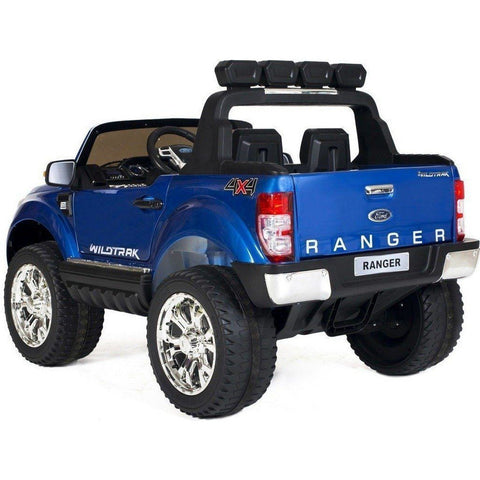 Ford Ranger Wildtrak 2017 Licensed 4WD 24V* Battery Ride On Jeep - Blue - EVA Wheels - EpicStuff