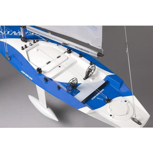 KYOSHO SEAWIND READYSET REMOTE CONTROLLED YACHT (KT431S) - EpicStuff