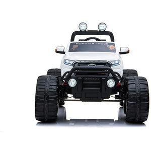 LICENSED FORD RANGER 4WD 24V* KIDS MONSTER TRUCK RIDE ON WITH EVA - WHITE - EpicStuff
