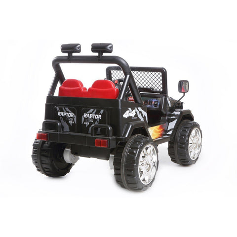 Battery Powered - 12V 2 Seater 4x4 Truck  - Black - Pre order - EpicStuff