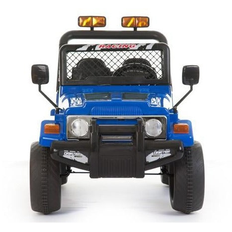 Battery Powered - 12V 2 Seater 4x4 Truck  - Blue - EpicStuff