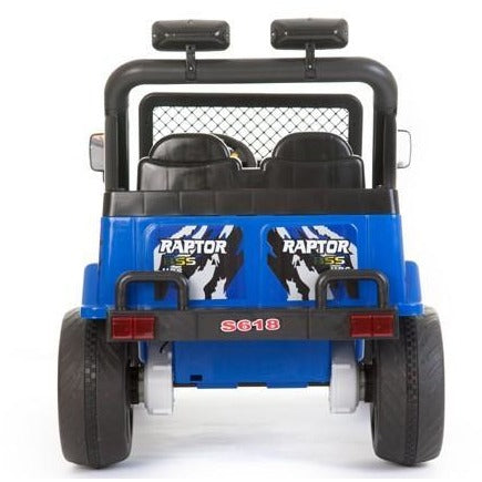 Battery Powered - 12V 2 Seater 4x4 Truck  - Blue - Pre Order - EpicStuff