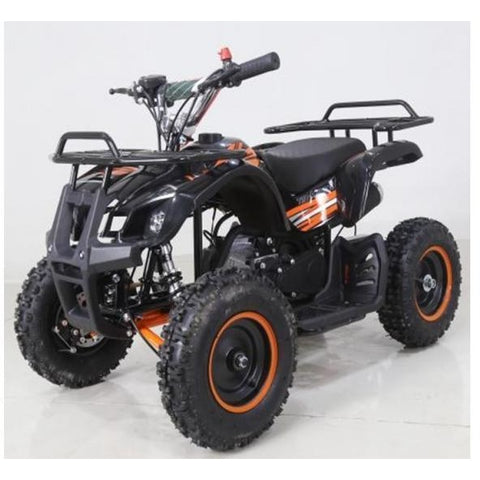 Hawkmoto Mini Kids Farm Quad FRM 50cc - Orange - EpicStuff