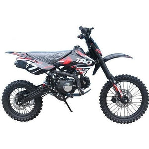 DB17 TAO USA Motocross Dirt Bike 125cc - Red - 14/17 - EpicStuff