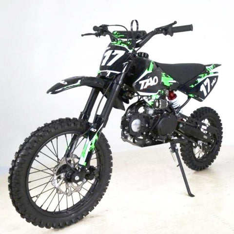 DB17 TAO USA Motocross Dirt Bike 125cc - Green 14/17 - EpicStuff