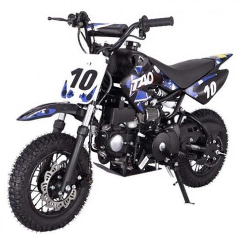 "DB10 TAO USA KIDS 110CC Motocross Dirt Bike - Blue 10"" - EpicStuff"