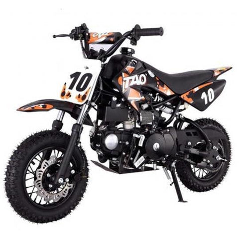 "DB10 TAO USA KIDS 110CC Motocross Dirt Bike - Orange 10"" - EpicStuff"