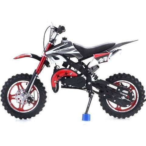 Mini Kids Scrambler 50cc Blaster Kids dirt bike - Black/Red - EpicStuff