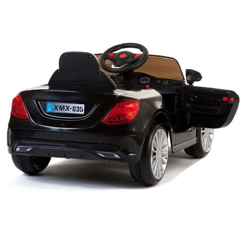 SL Roadster - 12V Kids' Electric Ride On Car  -Black - EpicStuff